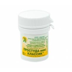 Гранулы гомеопатические «Простуда-микс / сырость»10гр.